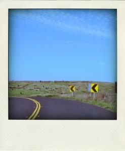 road turn-pola